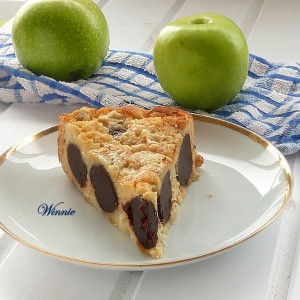 Chocolate Polka Dot (inside) Apple Cake